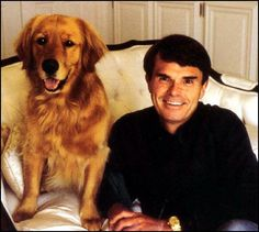 My favourite writer with his dog - Dean Koontz