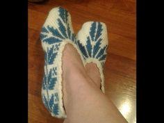 crochet zapatillas sneakers tunecinas ( with subtitles in several lenguage) - YouTube