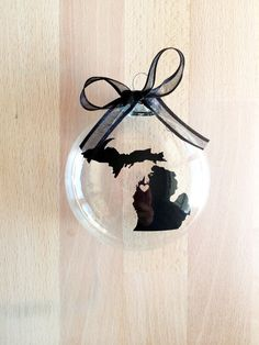 Hey, I found this really awesome Etsy listing at https://www.etsy.com/listing/211869002/state-of-michigan-ornament-custom-travel
