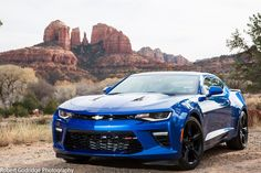 100 hi-res pictures from my trip to Jerome/Sedona/Flagstaff in my Hyper Blue Camaro - CAMARO6