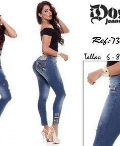 eb3b97cb31 pantalon colombiano dojeans 73654. Kprichos Moda Latina · JEANS LEVANTA COLA  DOJEANS