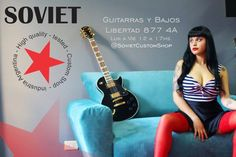 @sovietcustom #MelinaCardenes #SovietCustomShop #GuitarrasSoviet #SovietGuitar