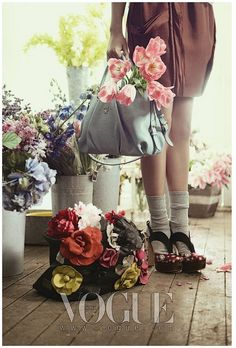 Como dar un toque vintage a la casa con flores