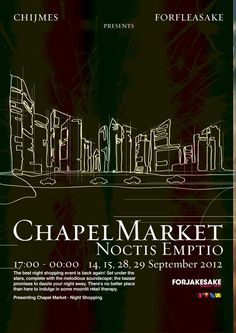 Chapel Market - Notis Emptio  14 Sep 2012