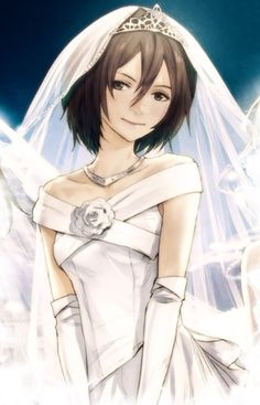 Aww Mikasa's going to marry Levi. Sorry for the levi x eren and mikasa x eren shippers it's just not happening I SHIP RIVAMIKA I actually prefer eren x mikasa because he is better than Levi but he is her somewhat brother <- NOPE Attack On Titan Season, Attack On Titan Anime, Tokyo Ghoul, Death Note, Levi Squad, Mikasa X Eren, Rwby Pyrrha, Humanoid Creatures, Manga Story