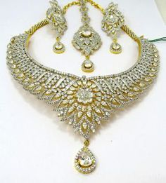 1000 Images About American Diamond Jewelry From India On