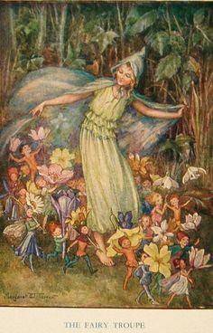 Margaret W. Tarrant- The Fairy Troupe