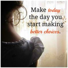 Your past ended last night... today is a brand new day to start afresh.