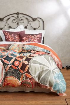 If only this colorful Anthropology duvet wasn't so expensive...