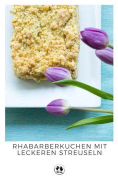 Rhabarberkuchen mit Streuseln  #Rhabarber #Streuselkuchen #Kuchen #Rhabarberstreuselkuchen