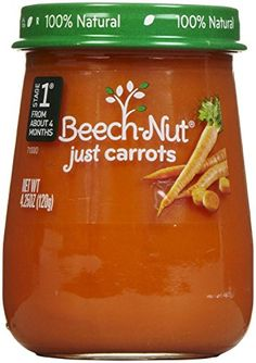 Beechnut Stage 1 Just Carrots Baby Food ** You can get additional details at the image link.