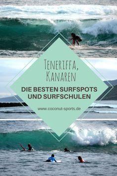 Surfen auf Teneriffa ist total unterschätzt - denn hier ist es viel weniger überlaufen als auf Fuerteventura. Das sind die besten Surfspots und Surfschulen.