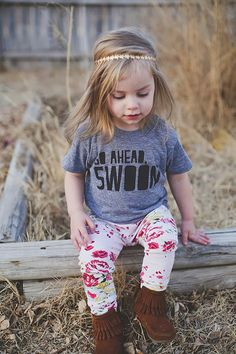 Go Ahead, Swoon Kids Tee