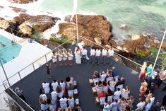 beach wedding, no sand! bondi