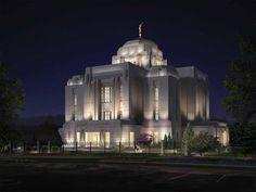 Meridian Idaho LDS Temple  We love Temples at: www.MormonFavorites.com