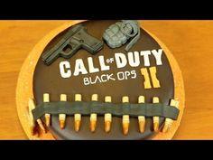 BLACK OPS 2 CAKE - NERDY NUMMIES