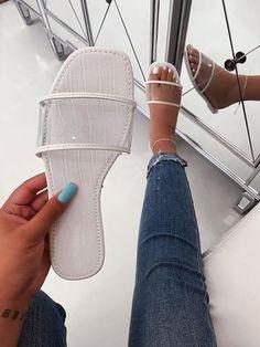 Bling Sandals, Cute Sandals, Cute Shoes, Shoes Sandals, Women Sandals, Flats, New Balance Ladies Shoes, Flat Lace Up Shoes, Shoes For School