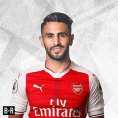 Riyad Mahrez, Arsenal, Barcelona, Chelsea, Leicester City, Tottenham, BPL, EPL, soccer, football, English Premier League