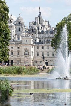 St James Park Lake, London.