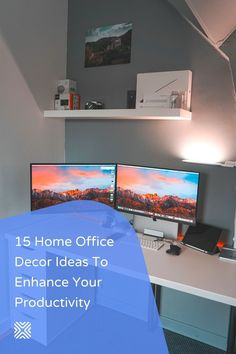 Having trouble working from home? Create a workspace at home where you can comfortably focus on work. Here are some amazing decor ideas to help you design your home office!