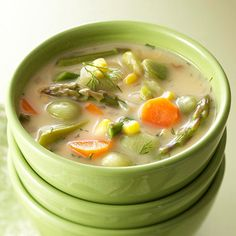 Creamy Succotash Soup, going to try as soon as I get the ingredients!