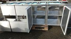 Chladící stůl se zásuvkami i chladícím boxem ( průchozí ). - 1 Box, Snare Drum