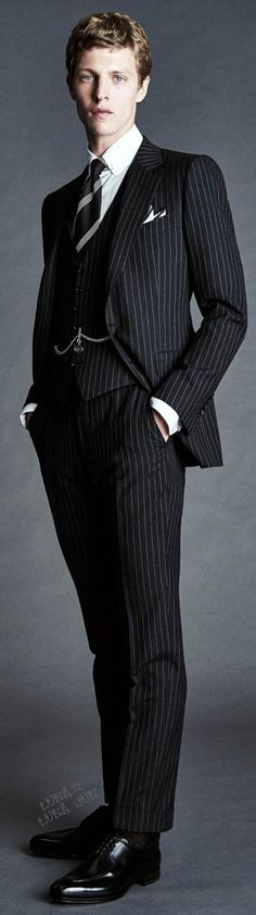 Soooo loving this suit, but with a different guy in it : Tom Ford Spring 2016 Menswear