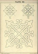 CUSACK'S FREEHAND ORNAMENT