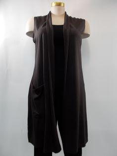 9695d3b73b Bryn Walker - Bamboo and Organic Cotton Umbra Edmund 1 Pocket Vest