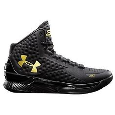 1426e40d1651 Black And Gold Under Armour Shoes Curry Basketball Shoes