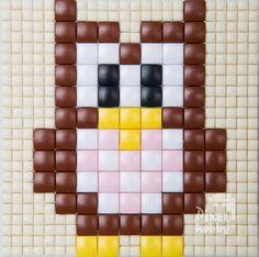 #pixelhobby #pixelen #pixel.gift #owl #uil #kids #toy #hobby #creatief