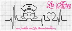 You touch my heart Cross Stitch Love, Cross Stitch Pictures, Cross Stitch Borders, Cross Stitch Alphabet, Cross Stitch Charts, Cross Stitching, Cross Stitch Embroidery, Cross Stitch Patterns, Stitches Medical