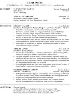 sample resume investment banking examples ideas tips template free best free home design idea inspiration - Sample Resume Investment Banking