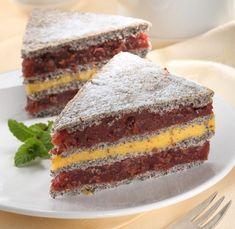 Poppy Cake, Hungarian Recipes, Sweet Tarts, Cheesecake, Food And Drink, Gluten, Birthday Cake, Sweets, Baking