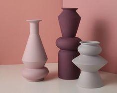 Minimal Art Modern Vase Nordic handmade Ceramic Pottery | Etsy