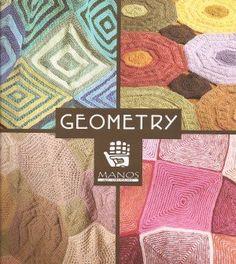 Manos del Uruguay - Geometry Afghan Throw Pattern, on Noble Knits Knitting Kits, Loom Knitting, Knitting Projects, Knitting Patterns, Crochet World, Knit Crochet, Geometry Pattern, Yarn Ball, Afghan Blanket