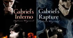 """El infierno de Gabriel/ El éxtasis de Gabriel en lo personal, solo leí el primer libro para saber que diablos atormentaba a gabriel... y el segundo me aburrió por culpa de gabriel.... no puedo con el y su inesperada obsesión por el """"bienestar""""  de julia"""" .--."""