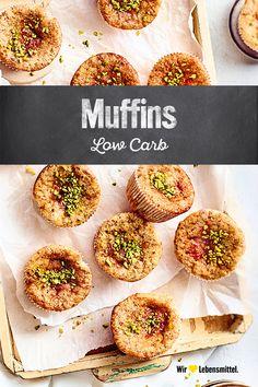 Lust auf Muffins aber lieber nicht zu viele Kohlenhydrate? Dann bist Du bei uns genau richtig: Unser Rezept für Low-Carb-Muffins ist ohne Mehl. #edeka #muffins #backen #lowcarb #rezept Low Carb, Baked Potato, Eggs, Potatoes, Baking, Breakfast, Ethnic Recipes, Food, Sheet Cakes