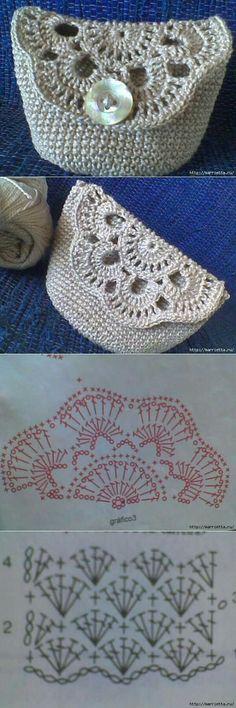 Most up-to-date Cost-Free Crochet Bag diy Suggestions liveinternet. Crochet Motif, Crochet Lace, Crochet Stitches, Free Crochet, Crochet Patterns, Doilies Crochet, Bag Patterns, Crochet Granny, Crochet Ideas
