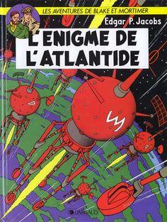 Blake et Mortimer (Éditions Blake et Mortimer) -7- L'énigme de l'Atlantide  -  1957