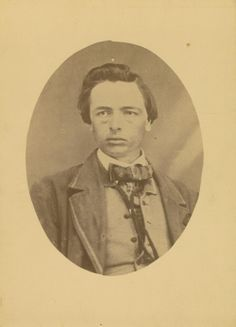 Barclay Coppoc, who fought beside John Brown during his raid on Harpers Ferry, Virginia. Coppoc escaped from the Harpers Ferry raid.