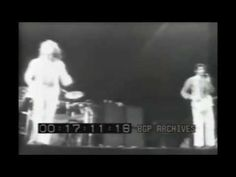 Keith Moon at the Cow Palace in 1973 - high on horse tranquilizers and brandy