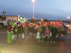 The Toys for Tots gang with the float for the parade. 1551679_1500129503609894_5818317643752890521_n.jpg (960×720)