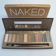 naked urban decay 12 color eyeshadow $14