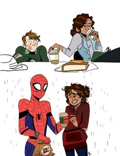 """""""""""#_+::""""""""You need this more than I do."""" More Spiderman: Homecoming stuff! It's weird how seeing more of this movie reminds me how much I love the original Spiderman movies (the Tobey Maguire ones). I'm excited to see the character interactions especially..."""