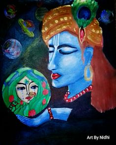 Krishna ,Adhikarta  ( The one who is above the creator)