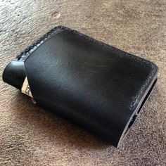 Durable Leather & Wood Goods by StandardandHand Leather Bifold Wallet, At Least, Zip Around Wallet, Handmade Leather, Slot, Pockets, Traditional, Cards, Maps