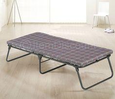 "Folding Camping Bed Frame Cot 3"" Foam Mattress Portable Sleeper Fold Away Guest #Outdoors #Contemporary"