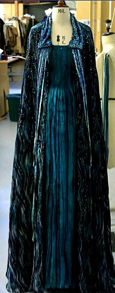 Padme's Funeral Gown - Waters of Naboo Gown.