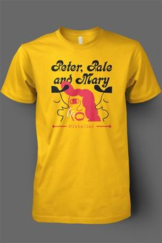 Another great design from Mikkeller, this shirt represents their Peter, Paul and Mary brew, a Folk Pale Ale. #craftbeer